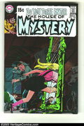 Bronze Age (1970-1979):Horror, House of Mystery #182 (DC, 1969) Condition: NM-. Neal Adams cover.Alex Toth art. Overstreet 2003 NM 9.4 value = $35....