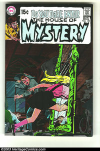 House of Mystery #182 (DC, 1969) Condition: NM-. Neal Adams cover. Alex Toth art. Overstreet 2003 NM 9.4 value = $35