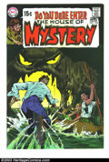 Bronze Age (1970-1979):Horror, House of Mystery #185 (DC, 1970) Condition: NM. Art by Neal Adams(cover), Mike Kaluta, and Al Williamson. Overstreet 2003 N...