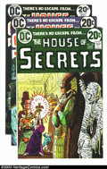 Silver Age (1956-1969):Mystery, House of Secrets Group (DC, 1973-74) Condition: Average NM-. FiveBronze Age issues -- #108, 110, 112, 117, and 119. Overstr...(Total: 5 Comic Books Item)
