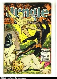 Jungle Comics #62 (Fiction House, 1945) Condition: FN. Kaanga appears. George Tuska art. Overstreet 2003 FN 6.0 value =...