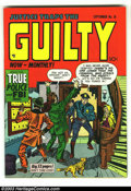 Golden Age (1938-1955):Crime, Justice Traps the Guilty #18 (Prize, 1947) Condition: VF/NM. Overstreet 2003 VF/NM 9.0 value = $113; NM 9.4 value = $140. ...