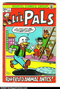 Li'l Pals #1 (Marvel, 1972) Condition: VG+. Solid copy of one of the harder Bronze Age titles to find. Very offbeat and...