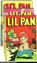 Golden Age (1938-1955):Funny Animal, Li'l Pan Group (Fox, 1946-47) Condition: Average VG. All threeissues of this scarce title, with an extra copy of #8. Issue ...(Total: 4 Comic Books Item)