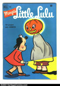 Golden Age (1938-1955):Cartoon Character, Marge's Little Lulu #40 (Dell, 1951) Condition: FN. Halloweencover. John Stanley story/art. Overstreet 2003 FN 6.0 value = ...