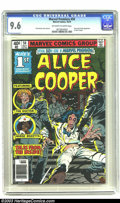 Bronze Age (1970-1979):Horror, Marvel Premiere #50 Alice Cooper (Marvel, 1979) CGC NM+ 9.6Off-white to white pages. First comic book appearance of Alice C...