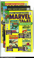 Silver Age (1956-1969):Horror, Marvel Tales Group (Marvel, 1966-67) Condition: Average VG+. Thislot consists of issues #4, 5, 6, 7, and 9. Reprinted stori...(Total: 5 Comic Books Item)