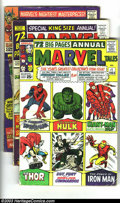 Silver Age (1956-1969):Horror, Marvel Tales Group (Marvel, 1964-1985) Condition: Average VG. Thislot consists of issue #1-12, 15-27, 122-128, 137, 145, 14...(Total: 36 Comic Books Item)