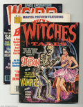 Modern Age (1980-Present):Miscellaneous, Miscellaneous Comic Magazines Group (Various, 1970-79). This group has a variety of horror, sci-fi and fantasy comic magazin... (Total: 8 Comic Books Item)