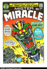 Mister Miracle #1 (DC, 1971) Condition: VF. First appearance of Mister Miracle; Jack Kirby story and art. Overstreet 200...