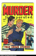 Golden Age (1938-1955):Romance, Murder Incorporated #5 (second series) (Fox Features Syndicate, 1950) Condition: GD/VG. Overstreet incorrectly lists this as...