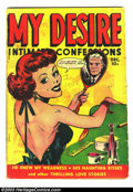 Golden Age (1938-1955):Romance, My Desire #32 (Fox Features Syndicate, 1949) Condition: GD.Overstreet 2003 GD 2.0 value = $21. ...