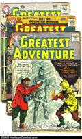 Silver Age (1956-1969):Adventure, My Greatest Adventure Group (DC, 1957) Condition: Average GD/VG. This lot consists of issues #13, 15, and 16. Issues #15 and... (Total: 3 Comic Books Item)