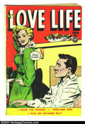 Golden Age (1938-1955):Romance, My Love Life #12 (Fox Features Syndicate, 1950) Condition: VG.Overstreet 2003 VG 4.0 value = $18....