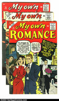 Silver Age (1956-1969):Romance, My Own Romance Group (Marvel, 1959-60) Condition: Average VG/FN.This lot consists of issues #71, 72, and 74-76. Overstreet ...(Total: 5 Comic Books Item)
