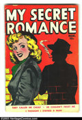 Golden Age (1938-1955):Romance, My Secret Romance #2 (Fox Features Syndicate, 1950) Condition: VG.Last issue; Wally Wood art. Overstreet 2003 VG 4.0 value ...