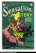 Golden Age (1938-1955):Horror, Sensation Mystery #115 (DC, 1953) Condition: FN-. Johnny Perilappearance. Overstreet 2003 FN 6.0 value = $129....