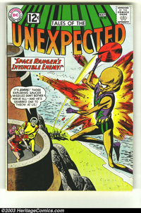 Tales of the Unexpected #70 (DC, 1962) Condition: FN/VF. Featuring Space Ranger. Overstreet 2003 FN 6.0 value = $21; VF...