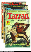 Bronze Age (1970-1979):Miscellaneous, Tarzan #207-209 Group (DC, 1972). This lot consists of threecomics, 207 (VF); 208 (VF/NM); and 209 (NM-). Joe Kubert art. O...(Total: 3 Comic Books Item)