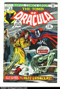 Bronze Age (1970-1979):Horror, Tomb of Dracula #8 (Marvel, 1973) Condition: NM. John Buscema coverart and Gene Colan interior art. Overstreet 2003 NM 9.4 ...