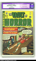 Golden Age (1938-1955):Horror, Vault of Horror #12 (EC, 1950) CGC Apparent FN/VF 7.0 Slight (P)Off-white pages. Ties with Crypt of Terror as first hor...