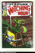 Bronze Age (1970-1979):Horror, Witching Hour #5 (DC, 1969) Condition: NM. Bernie Wrightson art.Overstreet 2003 NM 9.4 value = $65....