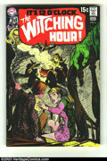 Bronze Age (1970-1979):Horror, Witching Hour #6 (DC, 1970) Condition: NM-. Alex Toth art.Overstreet 2003 NM 9.4 value = $60....