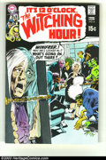 Bronze Age (1970-1979):Horror, Witching Hour #8 (DC, 1970) Condition: NM. Neal Adams cover andinterior art. Overstreet 2003 NM 9.4 value = $35....