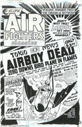 Original Comic Art:Covers, Charles Biro - Original Cover Art for Air Fighters Classics #2(Eclipse, 1988)....