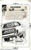 Original Comic Art:Covers, Jack Keller - Original Cover Art for Drag N' Wheels #61 (Charlton,1971)....