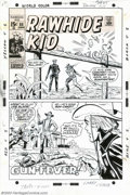 Original Comic Art:Covers, Larry Lieber - Original Cover for The Rawhide Kid #88 (Marvel,1971). He's turned a nice boy into a gun-crazy gunfighter... ...