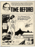 Original Comic Art:Splash Pages, Pete Morisi - Original Splash Page Art (Charlton, undated). PeteMorisi, a.k.a. PAM, brings his crisp, unique style to this ...