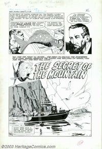 "Al Williamson and Angelo Torres - Original Art for Double-Dare Adventures #2, Complete 5-page Story, ""The Secret of..."