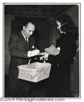 Autographs, Charles Boyer Vintage Signed Photo