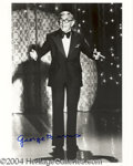 Autographs, George Burns signed 8x10