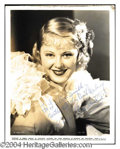 Autographs, Mary Carlisle Vintage Signed Photo