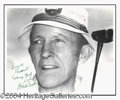 Autographs, Bing Crosby Vintage Signed Photo