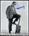 Autographs, Bo Diddley Music Legend Signed Photo