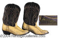Autographs, Joe Diffie Owned and Worn Boots