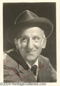 Autographs, Jimmy Durante signed 5x7