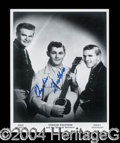 Autographs, Charlie Feathers Music Legend Signed Photo
