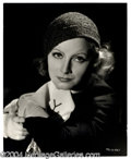 Autographs, Greta Garbo Gorgeous 11 x 14 Photograph