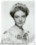 Autographs, Lillian Gish signed 8x10