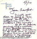 Autographs, Arthur Godfrey Signed ALS to Joan Crawford