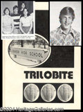 Autographs, Woody Harrelson 1977 High School Yearbook