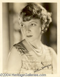 Autographs, Helen Hayes signed 8x10