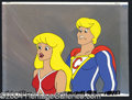 Autographs, Hero High Original Animation Cel