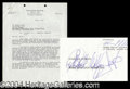 Autographs, Wolfman Jack Signed Doc for American Graffiti