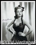 Autographs, Actress Dorothy Lamour Signed Photo