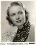 Autographs, June Lang signed 8x10